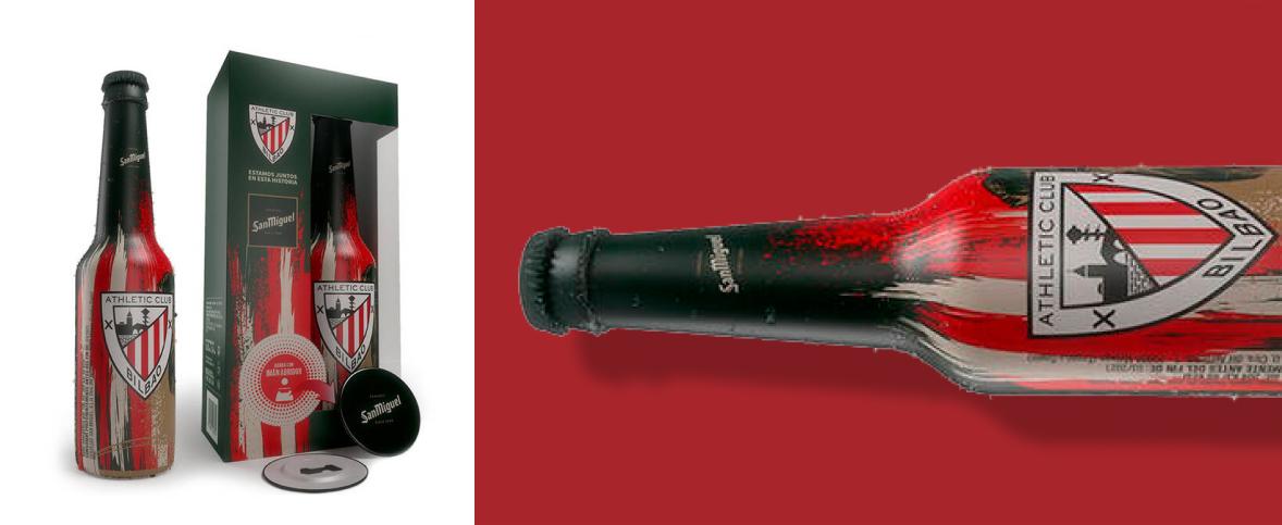 Hazte con la primera edición de San Miguel Especial que incluye una botella personalizada y un abridor-imán