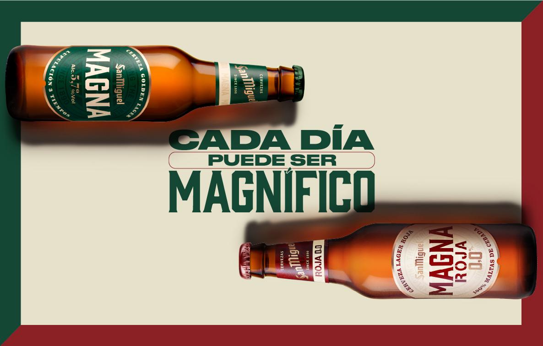 Cada día puede ser magnífico con la gama Magna de San Miguel
