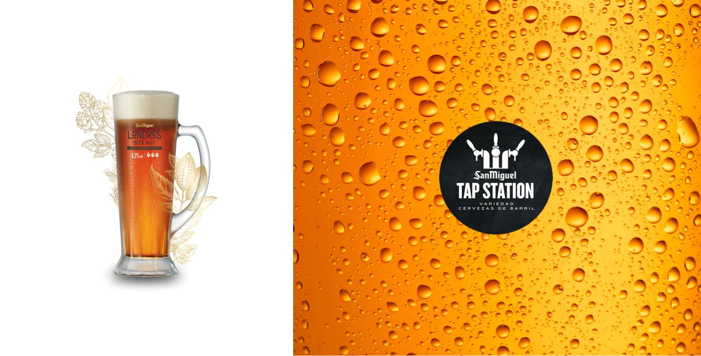 Variedades de cervezas de barril inspiradas en diferentes ciudades del mundo.
