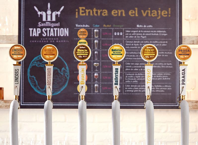 Bienvenidos a Tap Station