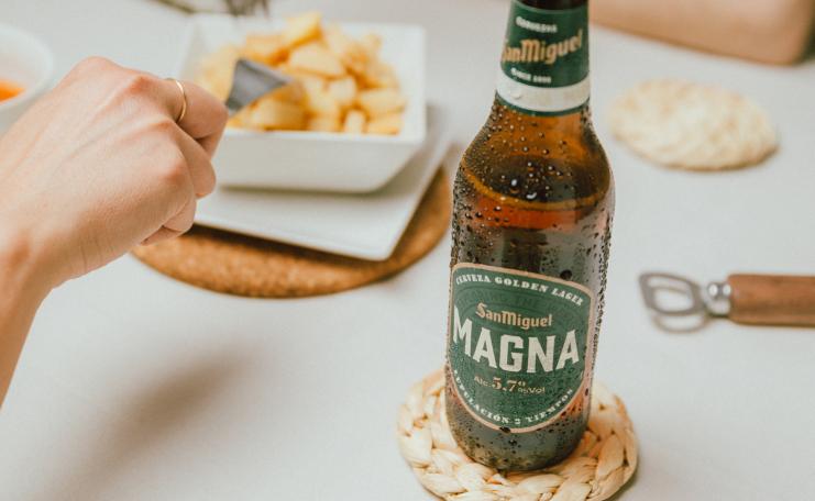 Descubre el sabor imparable de Magna de San Miguel.
