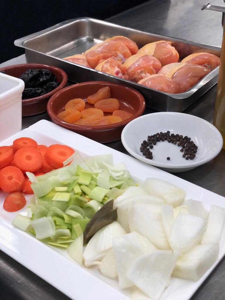 Ingredientes terrina de pollo a la catalana