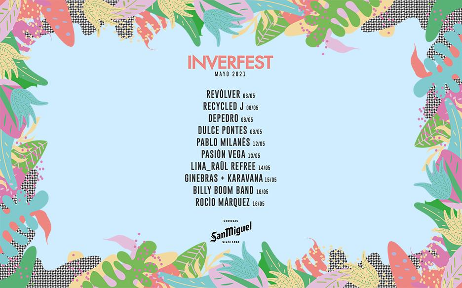 ¡El Inverfest vuelve con la primavera!